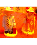 Homco Figurines (2) Boy and Girl 1488 Home Inte... - $8.99