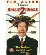 Jungle 2 Jungle Disney VHS Tim Allen Martin Sho... - $1.99