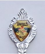 Collector Souvenir Spoon USA Washington Leavenw... - $9.99