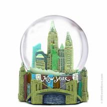 New York City Skyline Snow Globe Souvenir, New ... - $21.76