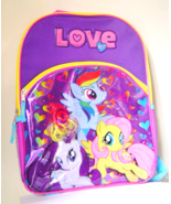 My Little Pony Backpack With Fun Pony Hair Love... - $13.00