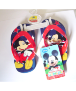 Mickey Mouse Toddlers Size 5 Flip Flop Sandals ... - $6.00
