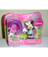 Minnie Mouse Bow-Tique  Beach Figurine Disney J... - $5.50
