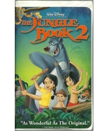 The Jungle Book 2 VHS Disney Animated - $2.99