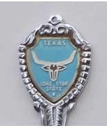 Collector Souvenir Spoon USA Texas Lone Star St... - $8.99