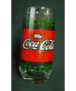 Vintage Coca-Cola COKE Glass Tiffany Stained Gl... - $5.00