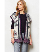 ANTHROPOLOGIE Angel Of The North Sweater Vest ... - $49.99