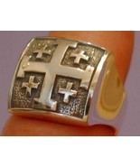 Silver 925 Kingdom of Jerusalem Cross Crusaders... - $95.00
