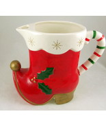 Vintage Napcoware ceramic Christmas holiday San... - $28.00