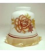 Bell Gold Lustre Rose Light Shade 2 1/4 in Wall... - $10.00