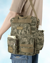 Gifts for New Dad Daddy Diaper Bag Military Men's Camo Shoulder Bag Baby Shower