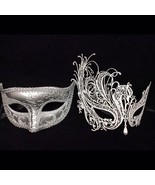 Lovers Men and Women Couples Masquerade Masks -... - $27.72