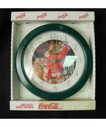 1998 Coca-Cola Santa Decorator Clock with Origi... - $8.00