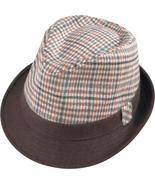 Henschel Fedora Wool Blend Solid Color Brim Pla... - $36.00