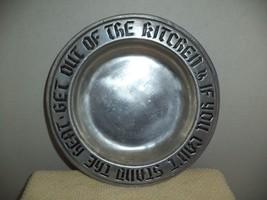 Wilton Pewter Plate - $9.99