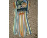 Buy NIP Womans Garden Gloves Mulit Colored Size S to Med