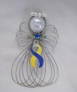 Down Syndrome Awareness Angel Ornament Handmade - $8.00