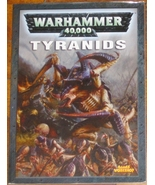 * Warhammer 40,000 Codex Tyanids Games Workshop... - $18.00