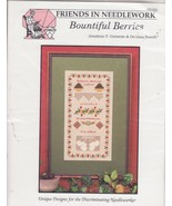 Bountiful Berries Cross Stitch Pattern With Spe... - $6.99