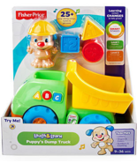 Fisher Price Laugh and Learn Puppy's Dump Truck... - $12.00