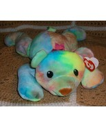 1998 TY PILLOW PALS BEAR SHERBET with HEART TAG... - $6.95