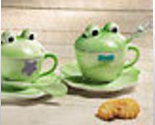 Image 0 of Frog Mug and Saucer Set