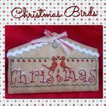 Christmas Birds cross stitch chart Romy's Creat... - $10.00