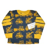 NWT boutique Young Colors tractor LS top boy 12... - $12.99