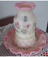 Fenton Burmese Optic 1 Piece Fairy Light Museum... - $99.95