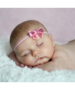 Adorable Pink Sequins Bow Baby Girls Headband. ... - $5.90