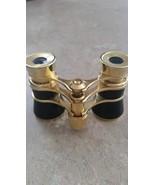 Vintage Old Opera Glasses Binoculars Gold & Black - $34.99