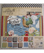 Graphic 45 Mother Goose paper pad 24 DS sheets ... - $39.99