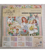 Graphic 45 Sweet Sentiments paper pad 24 DS she... - $49.99