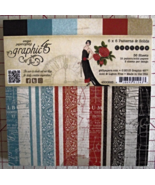 Graphic 45 Couture paper pad 36 sheets 6x6 new ... - $49.99