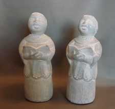 Matching Pair Isabel Bloom Sculpture: Singing C... - $20.99