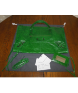 BALENCIAGA 2007 Vert Gazon RH Work CHEVRE  - $1,100.00