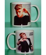 Justin Bieber 2 Photo Designer Collectible Mug 03 - $14.95