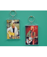 Tom Petty 2 Photo Designer Collectible Keychain - $9.95