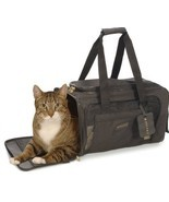 Deluxe Pet Carrier Medium Black dog cat soft co... - $56.38