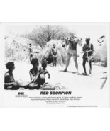 Red Scorpion Dolph Lundgren 1988 8x10 Press Pho... - $21.21