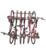 Bike Rack Holds 6 Bicycles Monkey Bars Garage S... - $106.92