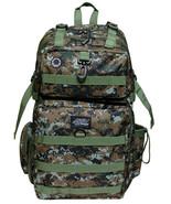 GREEN BROWN DIGITAL CAMO  Backpack Big Hunting ... - $30.69