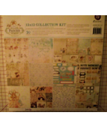 Prima 12x12 Princess collection paper sticker j... - $29.99