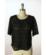 Anthropologie Weston Wear Black Lace Front Back... - $24.95