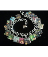 NANCY DREW Book Covers Charm Bracelet - $23.99