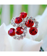 Bouquet Jewels Crystal Swirls (Set of 2) - $13.95