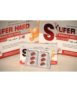 SUPER HARD Pills HERBAL MALE ERECTILE  ENLARGEM... - $18.99
