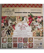 Graphic 45 12 Days of Christmas paper pad 24 DS... - $34.99
