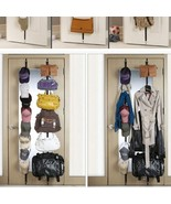 Over-the-Door Clothes Bag Cap Hook Clothe Hat P... - $10.99