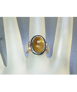 Bezel Oval Cabochon 5ct Green Tourmaline Solita... - $129.00